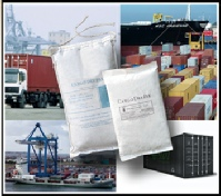 Desiccant for shipping containers