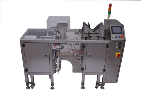 automatic stand up pouch loading equipment